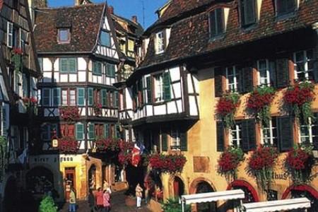 Alsasko a Vogézy za romantikou kraje vína Bez stravy