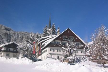 Gasthof Kirchenwirt / Gosau, Rakousko, Dachstein West