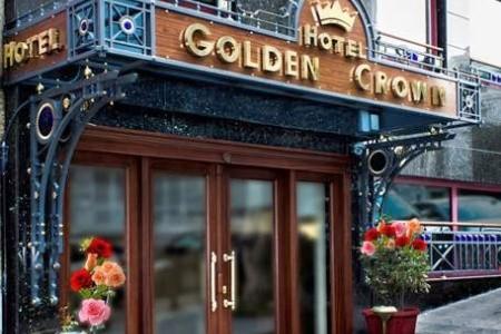 Golden Crown Hotel Snídaně