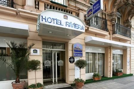 Best Western Hotel Riviera Snídaně
