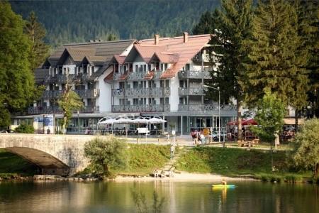 Hotel Jezero Bohinj - v srpnu