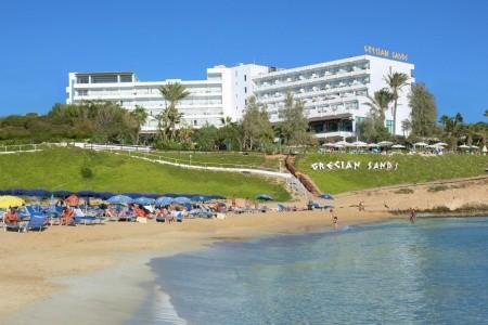 Grecian Sand Hotel Snídaně