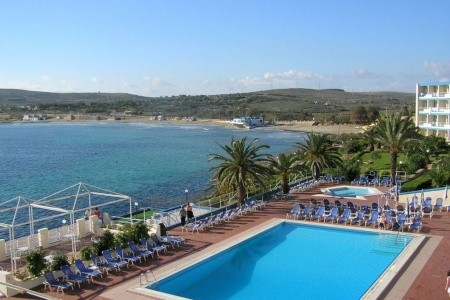 Mellieha Bay - letecky all inclusive