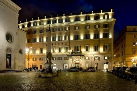 Grand Hotel De La Minerve - v červenci