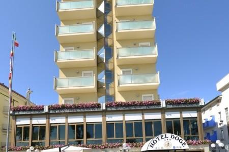 Hotel Doge Itálie Rimini last minute, dovolená, zájezdy 2018