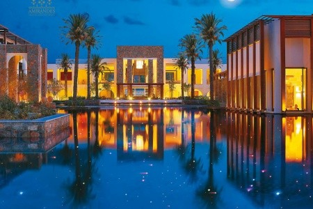 Grecotel Amirandes Exclusive Resort Řecko Kréta last minute, dovolená, zájezdy 2018