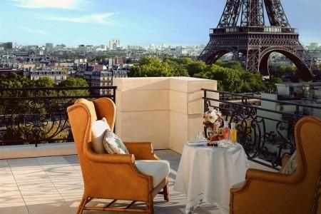 Shangri-La Paris Snídaně