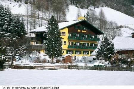 Hotel Sportalm V Bad Kleinkircheimu - U Lanovky Polopenze