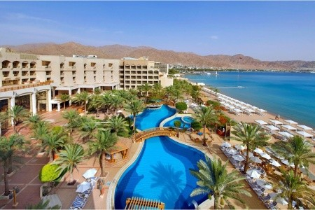 Intercontinental Aqaba - v červenci