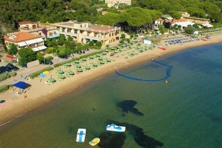 Itálie - Elba / Hotel Rezidence Le Acacie