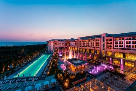 Regnum Carya Golf Spa Resort - v lednu