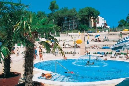 Hotel Pineta, Vrsar, Chorvatsko, Istrie