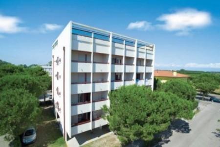 Apartmány Eridano S Bazénem Su- Bibione Spiaggia - apartmány