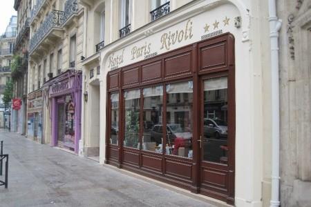 Hotel Paris Rivoli Snídaně