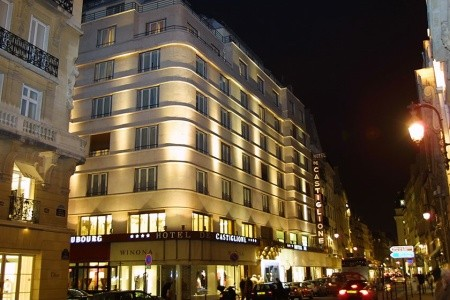 Hotel Castiglione Snídaně