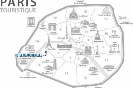 Beaugrenelle Tour Eiffel Snídaně