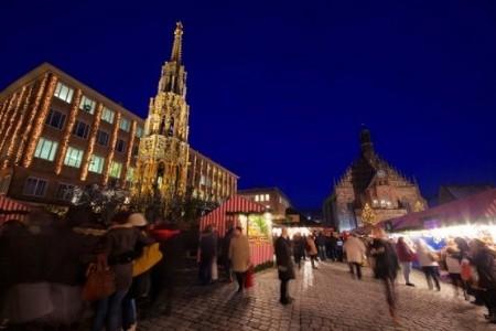 Vánoční trhy v Norimberku a koupání v Ambergu - levně