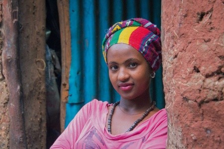 Etiópia - veľký okruh
