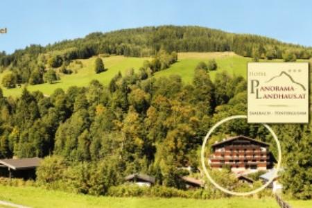 Saalbach, Landhaus Panorama - Léto
