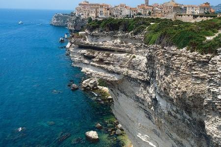 Korsika - turistika a moře Polopenze