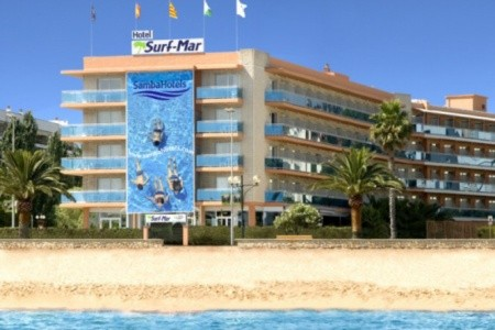 Lloret De Mar / Hotel Surf Mar - Španělsko v říjnu
