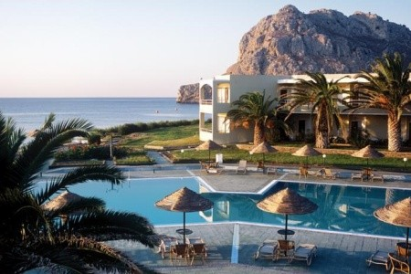 Lutania Beach, Řecko, Rhodos