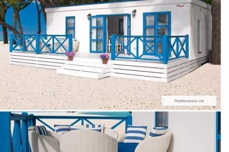 Korčula-Marco Polo Village- Port 9 Camping 3*-Mobilní Domky - kempy