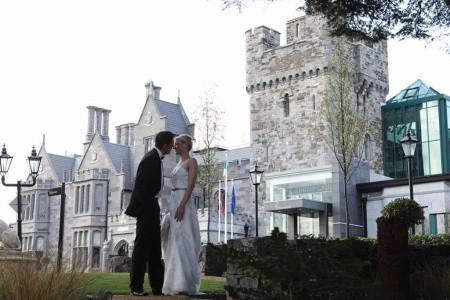 Clontarf Castle Hotel Snídaně