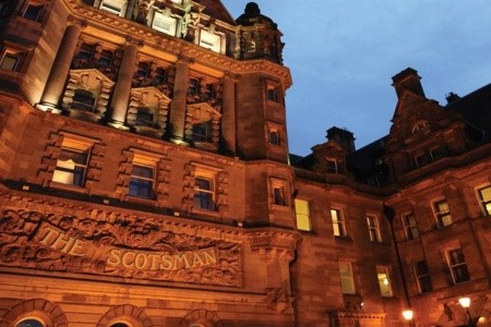 The Scotsman Hotel Edinburgh Snídaně First Minute