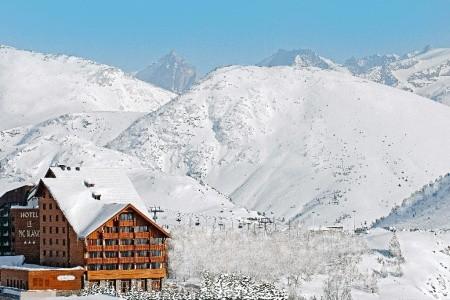 Le Pic Blanc Snídaně
