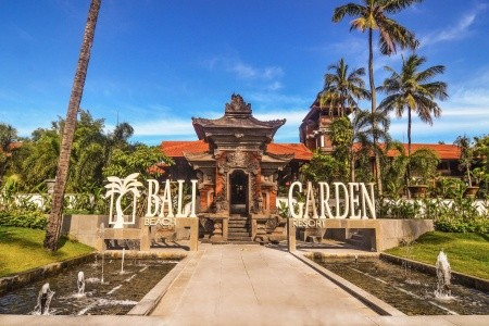 Bali Garden Beach Resort - v srpnu