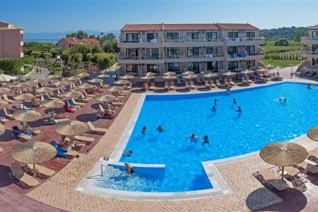 Hotel Angela Beach, Řecko, Korfu