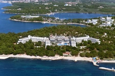 Hotel Delfín** S Bazénem-Dítě Do 11.9 Let Zdarma, Chorvatsko, Poreč