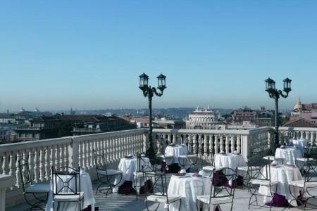 Romanico Palace Rome - snídaně