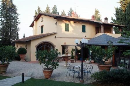 Vecchio Borgo Di Inalbi, Itálie, Toskánsko