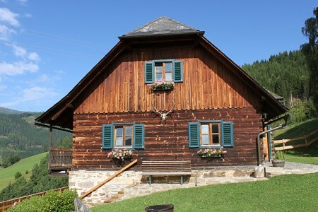 Kopphütte - Rakousko v lednu