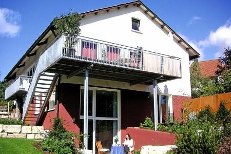 Haus Schanbacher - v srpnu