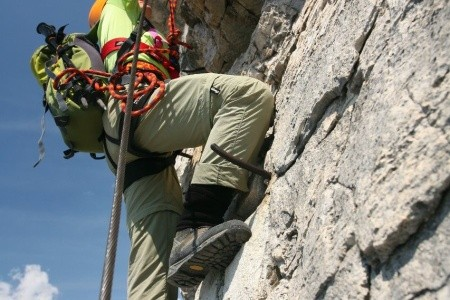 Ferratový zájezd Sextenské Dolomity lehká varianta