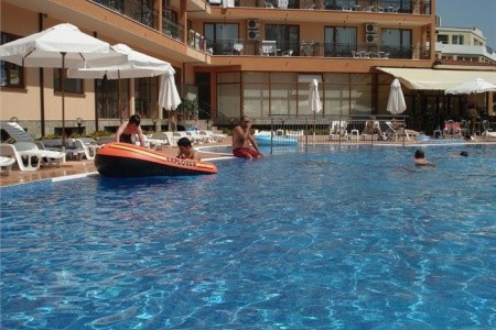Bulharsko - Slunečné Pobřeží / Happy Apart-Hotel