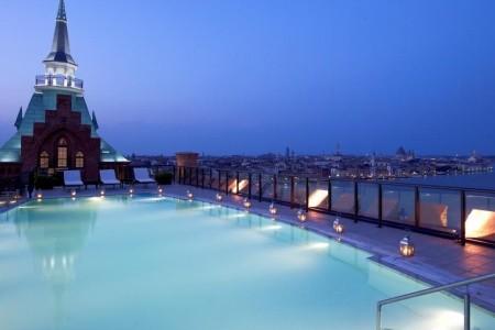 Hilton Molino Stucky Venice Snídaně