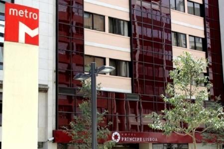 Hotel Principe Lisboa Snídaně