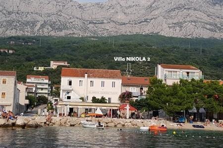 Vila Nikola 2, Chorvatsko, Tučepi