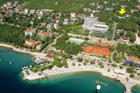 Hotel Depandance Pavilony Omorika, Crikvenica Polopenze