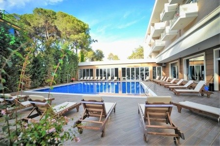 Hotel Sandy Beach - letecky