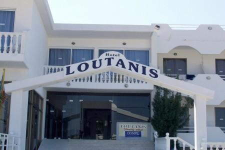 Loutanis Hotel, Řecko, Rhodos