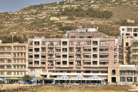 Calypso Hotel, Gozo, Malta - v dubnu