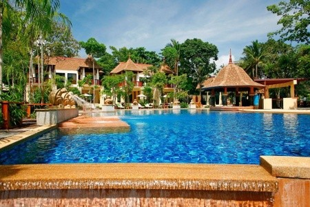 Crown Lanta Resort And Spa Snídaně