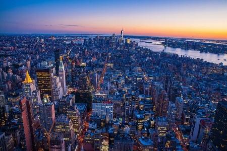 New York po americku + CONEY ISLAND (letecky z Pra Snídaně