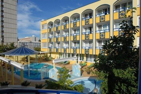Hajdúszoboszló - Hotel Rudolf Spa - v květnu