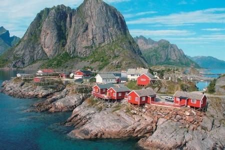 Norsko - velký polární okruh - v červenci